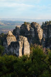 Rock Town in Bohemian Paradise Stock Images