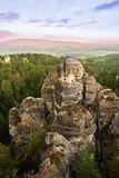 Rock Town in Bohemian Paradise stock photography