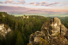 Rock Town in Bohemian Paradise, hdr Stock Images