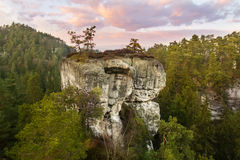 Rock Town in Bohemian Paradise, hdr Royalty Free Stock Image