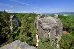 Rocks for climbing. Stock Photos