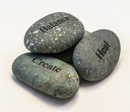 Rock Trio Royalty Free Stock Photo