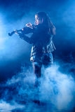 Rock Violinist Royalty Free Stock Images