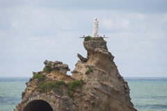 The Rock of the Virgin Mary. Stock Image