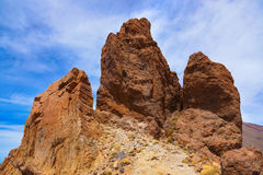 Rock at volcano Teide in Tenerife island - Canary Stock Photography