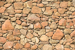 Rock wall Stock Image