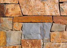 Rock Wall. Wall made of stone Stock Images