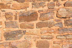 Rock wall. Ideal for a background with rough texture Stock Photography