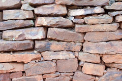 Rock wall. Ideal for a background with rough texture Stock Image