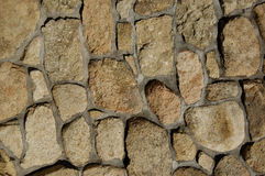 Rock wall. A rock wall texture or background Royalty Free Stock Image