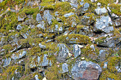 Rock wall Stock Photo