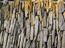 Rock wall. Pattern, UK stock photos