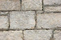 Rock Wall. Closeup of natural stone surface Stock Photos