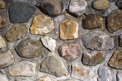 A rock wall stock image