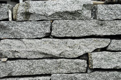 Rock wall. A hand made rustic rock wall Royalty Free Stock Photography