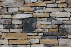 Rock Wall. Background Texture Royalty Free Stock Photos