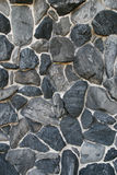 Rock wall background. The rock wall decor for background Royalty Free Stock Photos