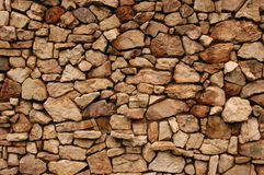 Rock Wall Background Stock Image