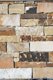 Rock Wall Background. Photograph of a rock wall background royalty free stock image