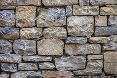 Rock wall. Rock background, texture Stock Image