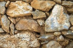 Rock wall background texture Royalty Free Stock Photos