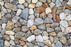 Rock wall background and textured Stock Images