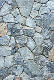 Rock wall. Closeup of wall made from the rock for background Royalty Free Stock Photos