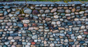 Rock Wall Closeup royalty free stock photo