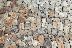 Rock wall detail Royalty Free Stock Photo
