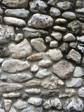Rock Wall. Different shades of gray, rock wall Royalty Free Stock Photography