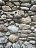 Rock Wall. Different shades of gray, rock wall Stock Image