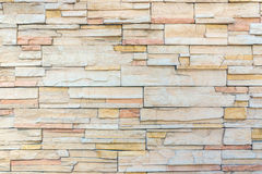Rock wall interior texture, Modern brick wall. Stock Images