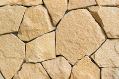 The rock wall pattern Royalty Free Stock Photo