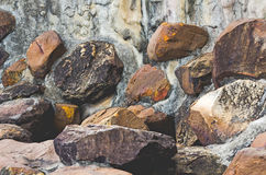 Rock wall. Picture wallpaper  art  background rock Stock Photos