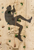 Rock Wall Shadow Stock Photos
