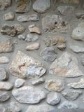Rock Wall. Solid, gray rock wall background Stock Photo