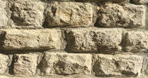 Rock Wall ,Stone wall Texture Background. royalty free stock photo