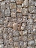 Rock wall. Rock Stone wallpaper Royalty Free Stock Images