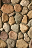 Rock Wall Texture. With a variety of colors stock photography
