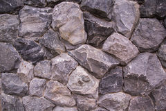 Rock wall texture Stock Image