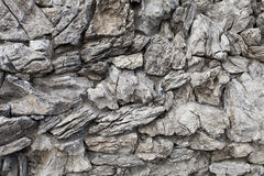 Rock wall texture. Image of rock texture wall. background closeup Royalty Free Stock Photography