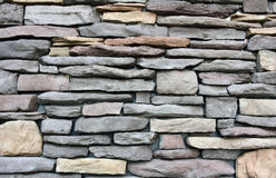 Rock wall  texture various of size and color Stock Image