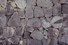 Rock wall. Textured wall built from rocks, ideal for backgrounds and textures Stock Photography