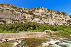 Rock Walls of Arco - Trentino Italy Royalty Free Stock Photos