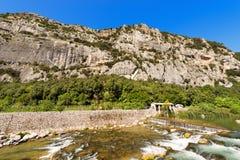 Rock Walls of Arco - Trentino Italy Royalty Free Stock Photos
