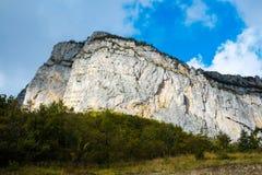 Rock walls in Vercors Royalty Free Stock Image