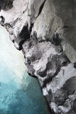 Rock_water. Abstract background consisting of rock formation and water Royalty Free Stock Images