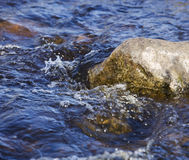 Rock and water Royalty Free Stock Image