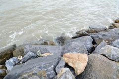 Rock and water Stock Photos