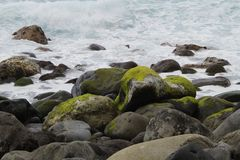 Rock, Water, Shore, Sea stock photography